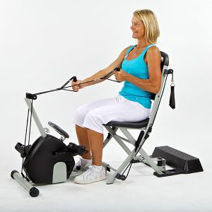 SmoothRider II Exercise Cycle - VQ ActionCare - The Resistance Chair home exercise system & SmoothRider II Exercise Cycle - VQ ActionCare - The Resistance Chair ...