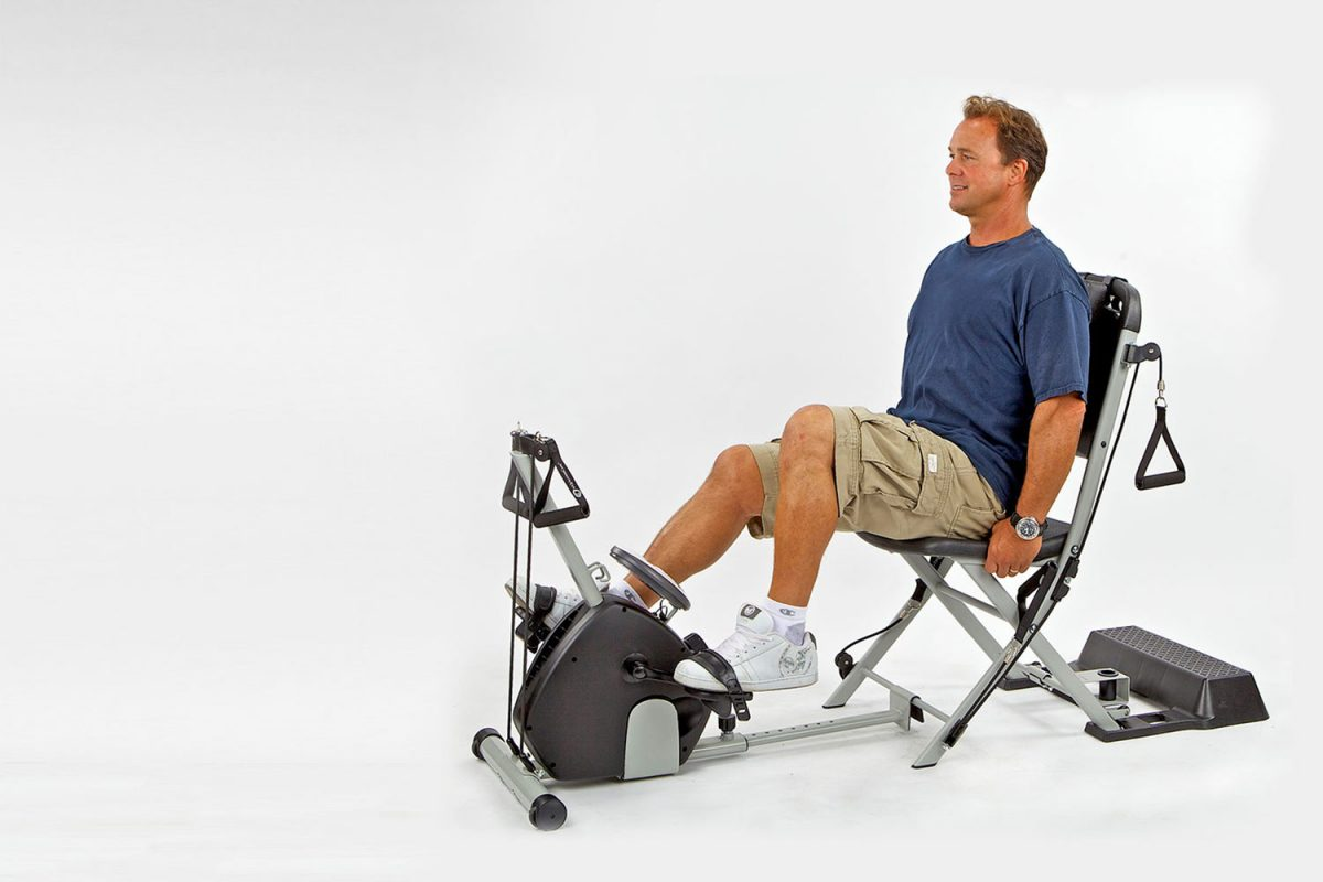 Buy Now & The Resistance Chair Gym System - [FREE Shipping + 2 DVD] $279.65
